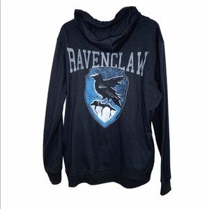 Harry Potter Ravenclaw Full Zip Hoodie